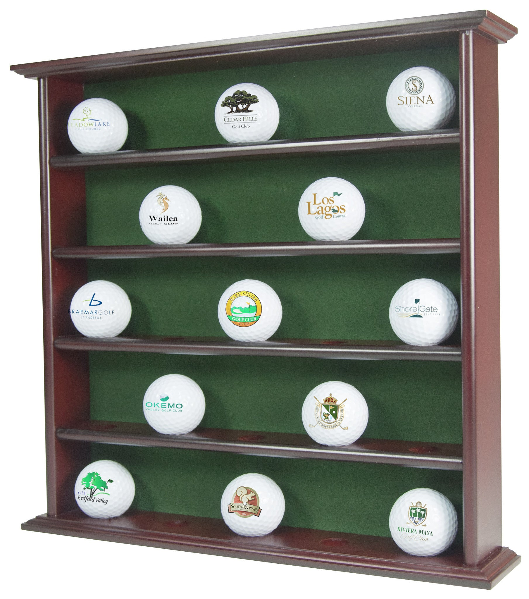 Superieur Golf Ball Display Cabinet 25 Ball