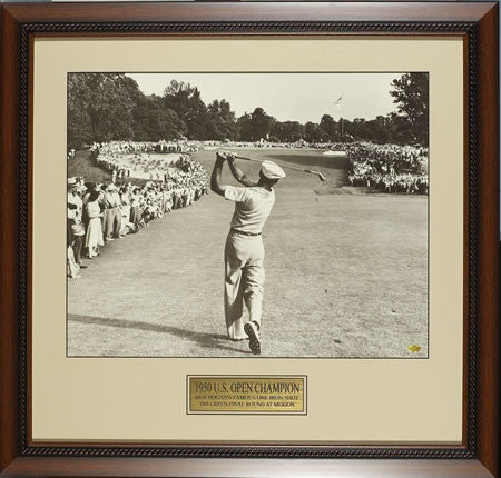 Ben Hogan 1 Iron Shot