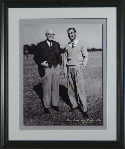 Ben Hogan and Donald Ross
