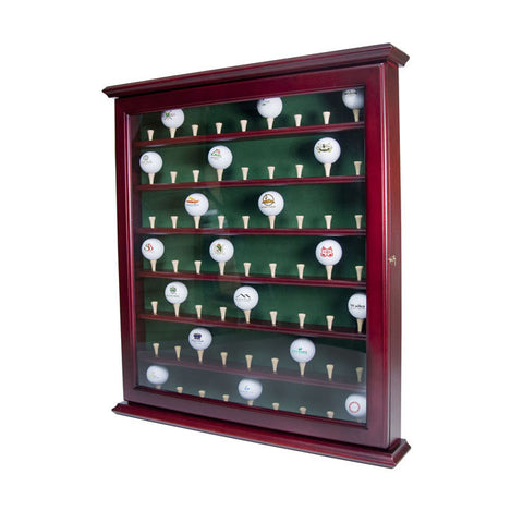 Golf Ball Display Cabinet 63 Ball