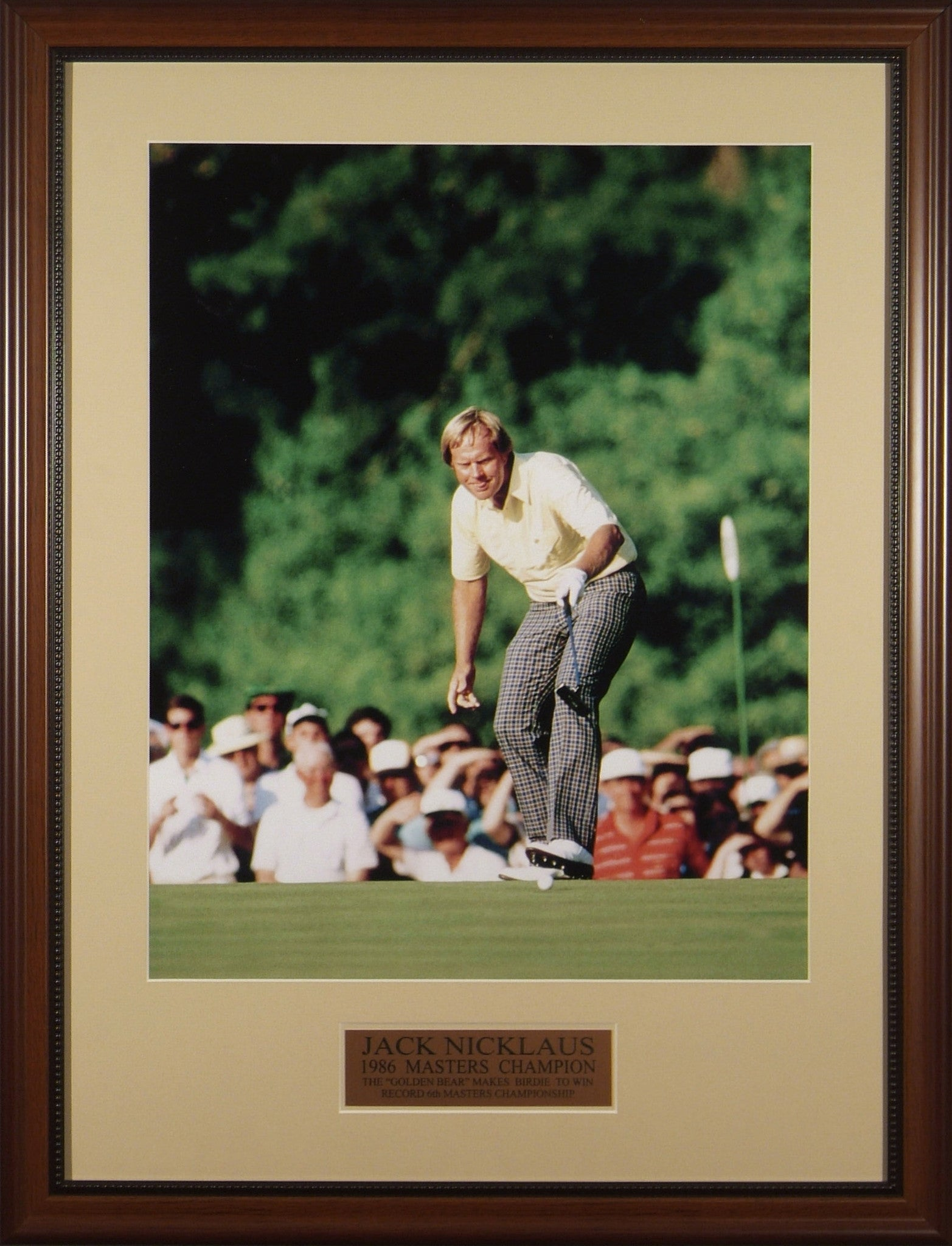 Jack Nicklaus 1986 Masters #17 Putt