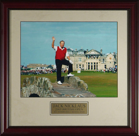 Jack Nicklaus Farewell to the British Open