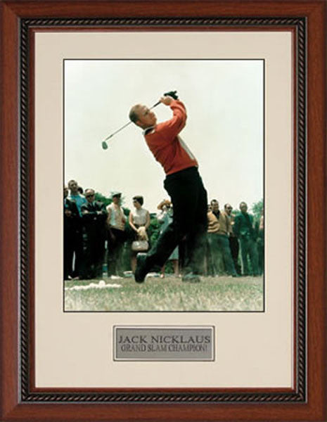 Jack Nicklaus Swinging