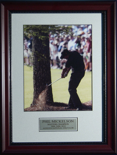 Phil Mickelson 2010 Masters #13 Pine Straw Shot