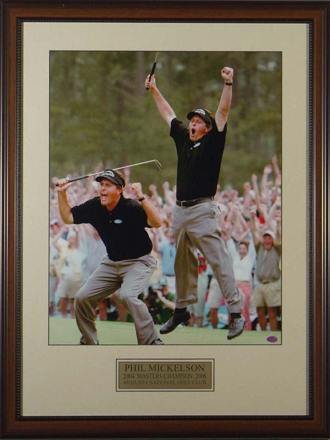 Phil Mickelson Double Jump