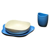 Beco bio degradable baby feeding set blue