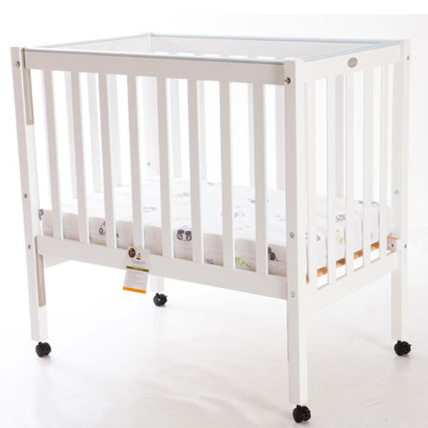Compact Cot White
