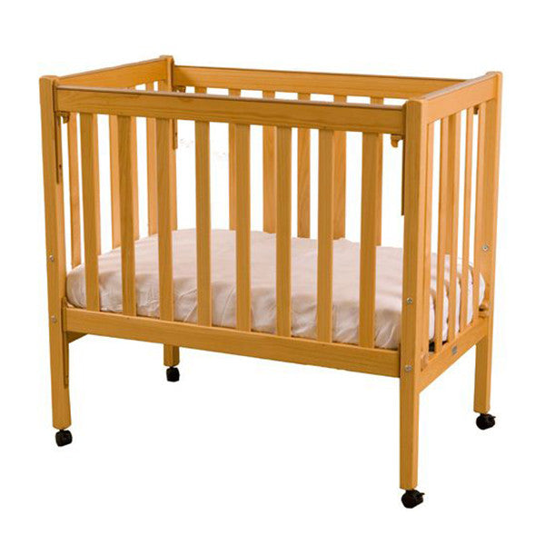 Sunbury pine natural compact cot