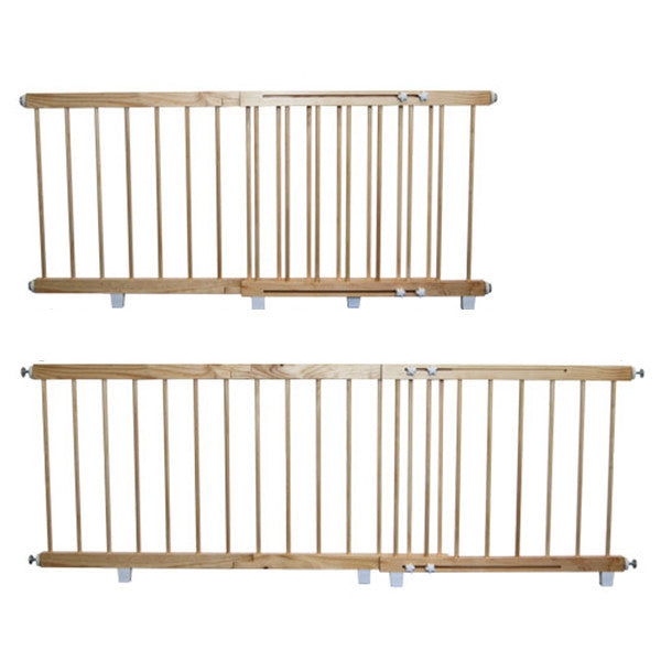 Childerens Wooden Door Safety Barrier 140cm to 180cm