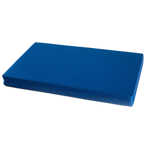 Compact foam mattress with waterproof cover