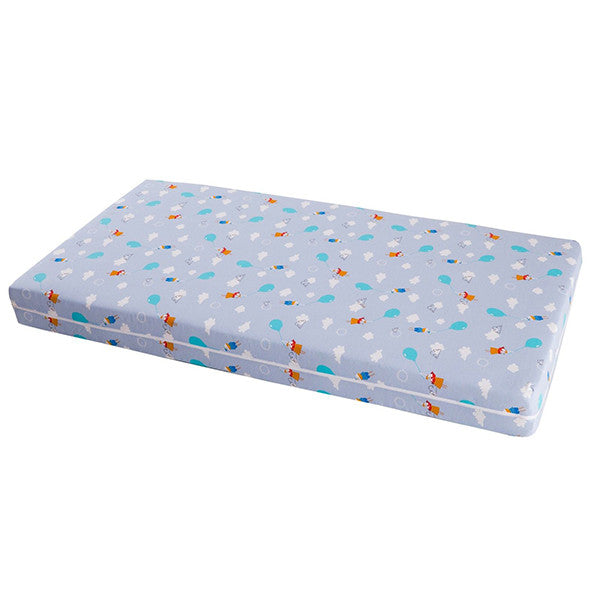 Compact Polyfibre Mattress with Cotton Cover