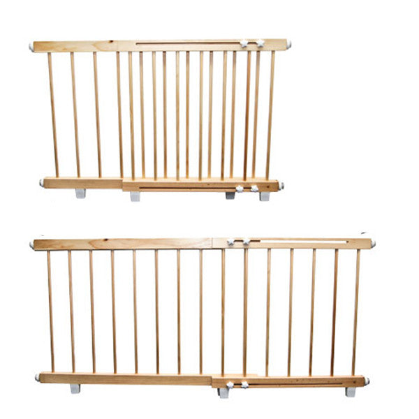 Kids Wooden Door Safety Barrier 100cm to 140cm