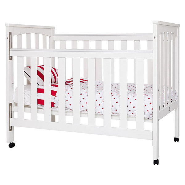 Sunbury Tiburon White 2 in one cot with matress