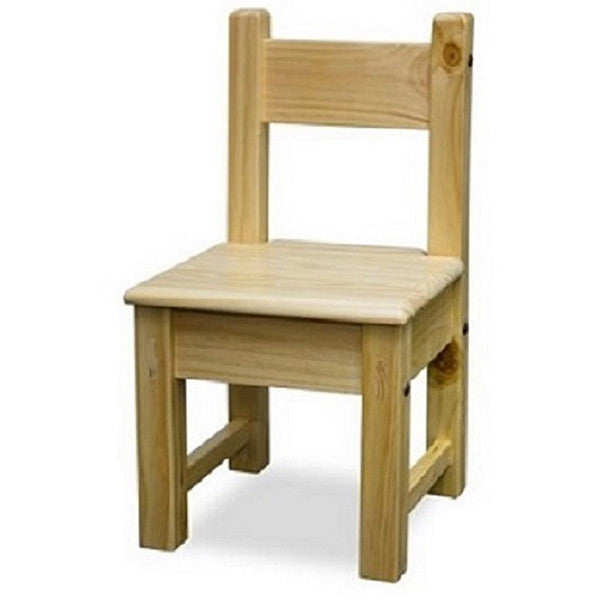 Kids Pine nursery furniture chair