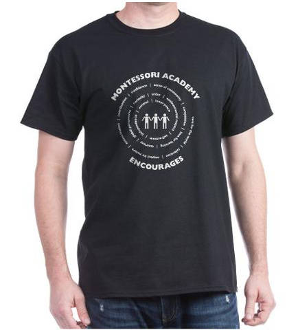 Fundraising Ideas with promotional t-shirts personalized with custom imprint or logo.
