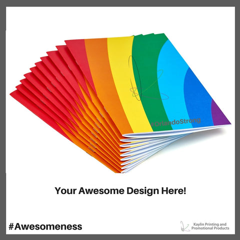 KP-BOOKLETS Custom Booklets personalized with your custom logo and imprint.