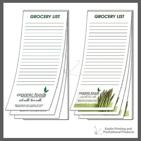 KPP-NP-001 Notepads - Scratch Pads personalized with your custom imprint or logo. 3.5- x 8.5- 3.5 x 8.5