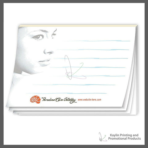 KPP-SN-001 Adhesive notepads - Sticky Notes personalized with your custom imprint or logo. 4-x3- 4x3