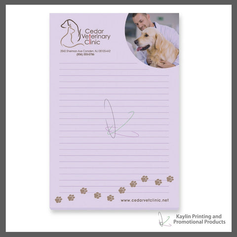 "KPP-SN-001 Bic Adhesive notepads | Sticky Notes personalized with your custom imprint or logo. 4"" x 6"" 4x6"