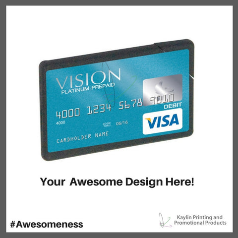 KYN-BC-001 Custom printed full color mint business cards, personalized with your custom imprint or logo.