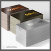 KYN-FC-001 Printed Foil Business Cards - gold - silver - copper - personalized with your custom imprint or logo.
