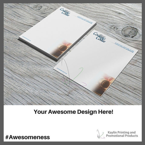 KP-LH-8.5X11-1S Custom letterheads personalized with your custom imprint or logo.