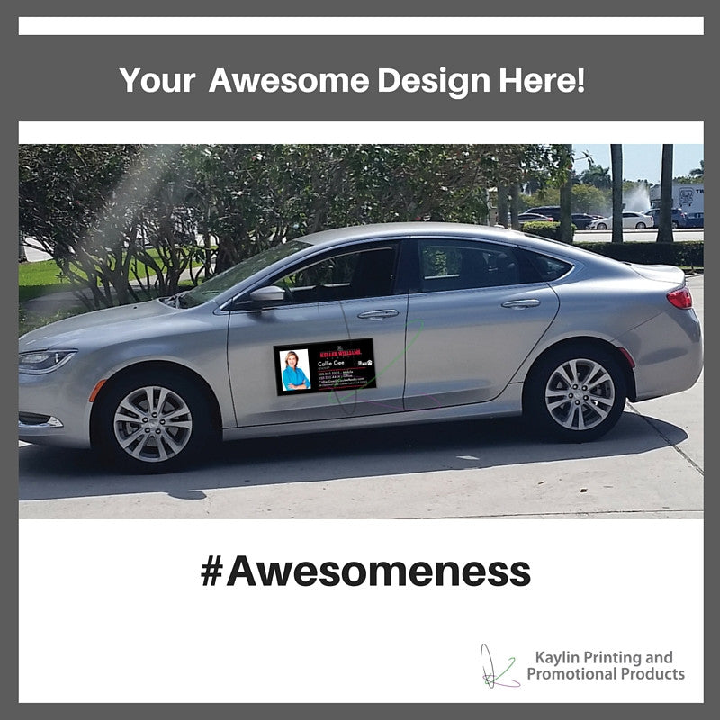 Custom Printed Auto Magnets Magnetic Signs For Cars And Trucks - Custom car magnet cheap