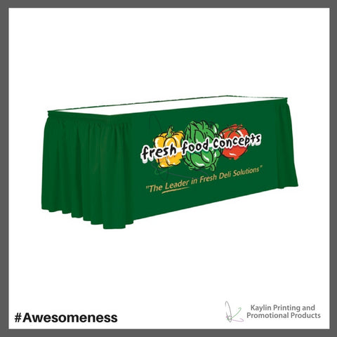 VTR-13FT-SH-DG-P-001 Shirred table skirting printed full color, personalized with your custom imprint or logo..jpg