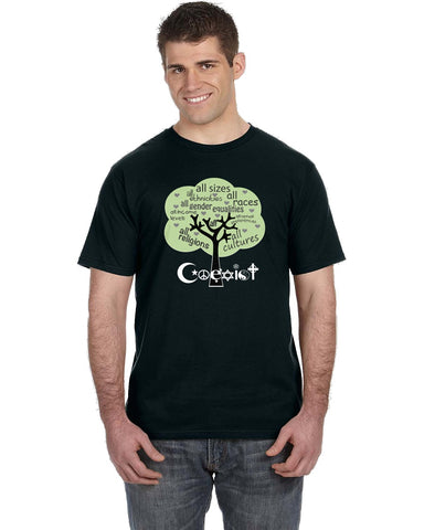 Coexist Tree T-Shirts