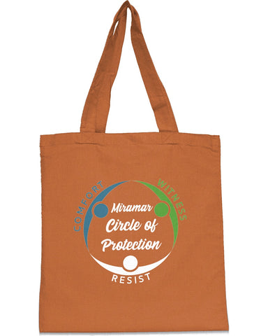 Miramar Circle of Protection Tote Bags