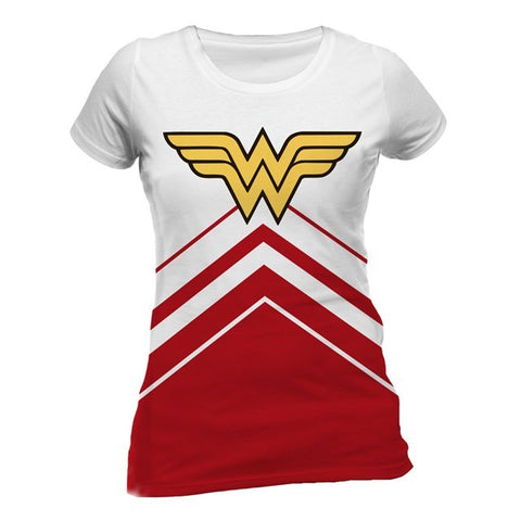 Wonder Woman Cheerleader Logo Women's T-Shirt