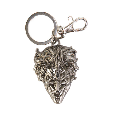 DC The Joker Head Pewter Key Ring