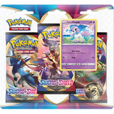 Pokemon TCG Sword & Shield Three Booster Blister (Assorted 1 Piece)