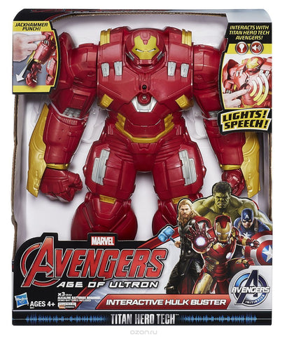Avengers Hulkbuster Titan Hero Action Figure
