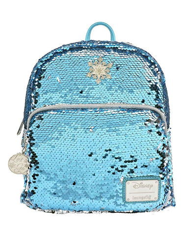 Loungefly Disney Frozen Elsa Reversible Backpack