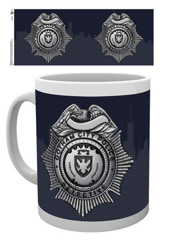 Gotham Police Badge Mug