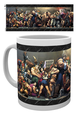 Street Fighter Fight Mug