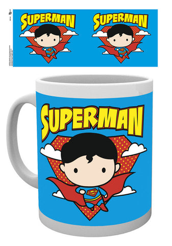 Justice League Superman Chibi Mug