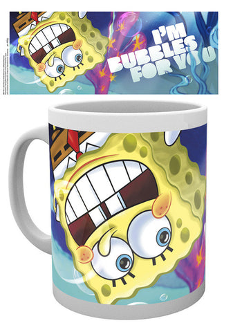 Spongebob Im Bubbles For You Valentines Day Mug