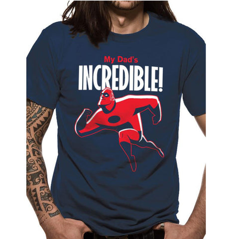 Incredibles 2 - My Dads Incredible Men's T-Shirt