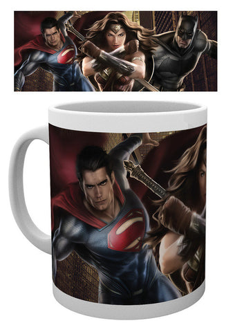 Batman V Superman Trio Action Mug