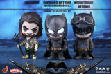 Batman v Superman Cosbaby - Armored Batman Battle Knightmare and Aquaman