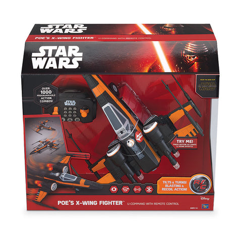 Star Wars Poes X-Wing Fighter U Command Building Kit