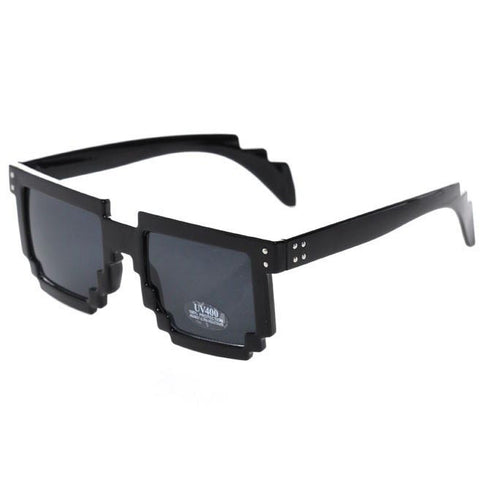 Minecraft Glasses Black