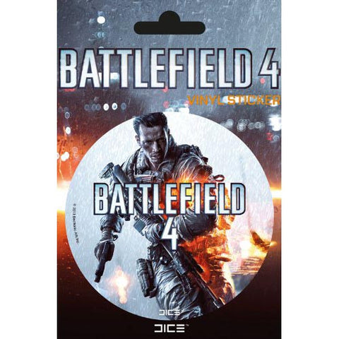 Battlefield 4 Logo Sticker
