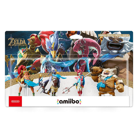 The Champions Amiibo - The Legend of Zelda: Breath of the Wild Collection