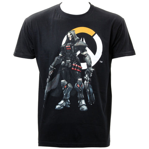 Overwatch Men's Reaper & Logo T-shirt