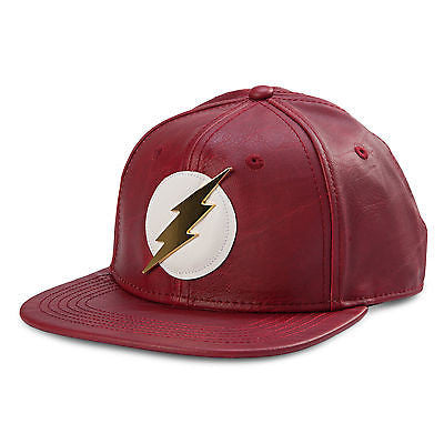 Flash Metal Logo Snapback Cap