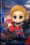 Cosbaby Avengers 4: Endgame - Captain Marvel with Nano Gauntlet Vinyl Figure