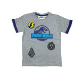 Jurassic World II Logo Bage T-Shirt